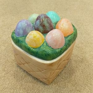 Other - Easter ceramic two-piece bowl set